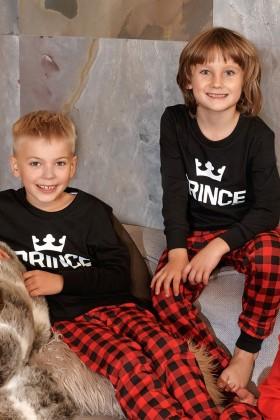 Chłopięca piżamka PRINCE dla prawdziwego Księcia