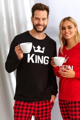 Męska piżama KING - dla idealnego Króla