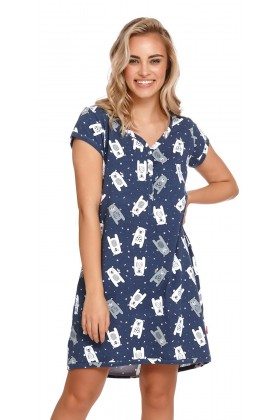 Maternity 2in1 pregnancy and nursing nightdress
