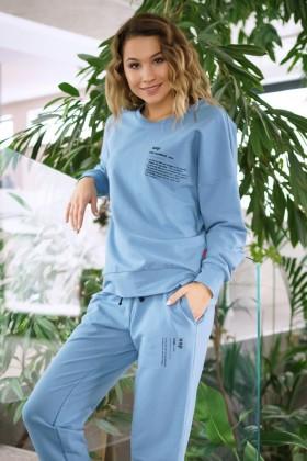 Niebieskie dresowe spodnie n.a.p