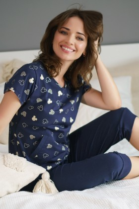 Women's two-pieces pyjama set organic cotton