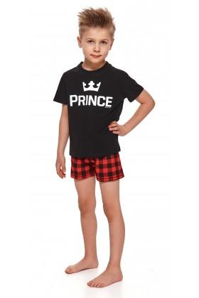 Chłopięca piżamka PRINCE z krótkimi spodenkami