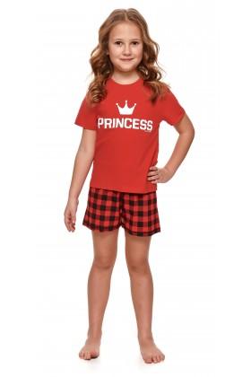 Dziewczęca piżamka PRINCESS z krótkimi spodenkami