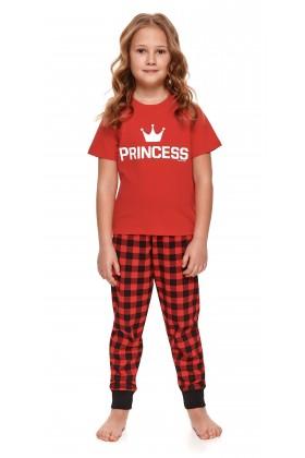 Dziewczęca piżamka PRINCESS z długimi spodniami