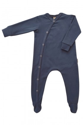 Newborn blue baby sleepsuit