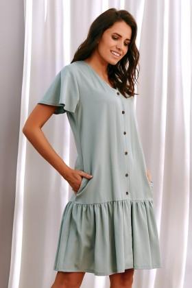Women's tencel maternity nightdress