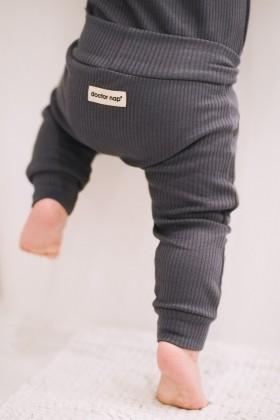 Newborn grey baby pants, joggers