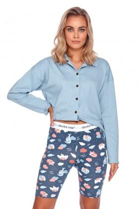 Women's two-pieces pyjama set with logo band