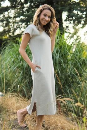 Nightdress WITH HEMP