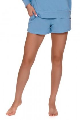 Niebieskie szorty dresowe