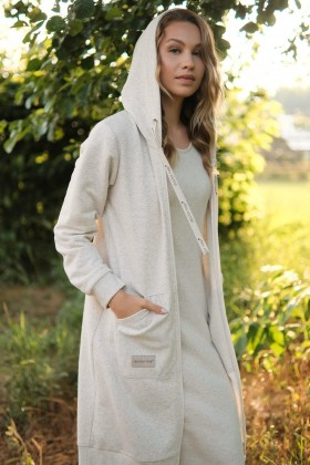 Dressing gown WITH HEMP