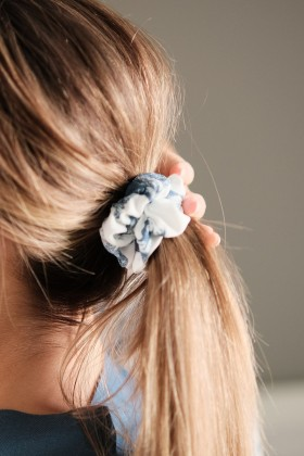Bambusowa gumka do włosów