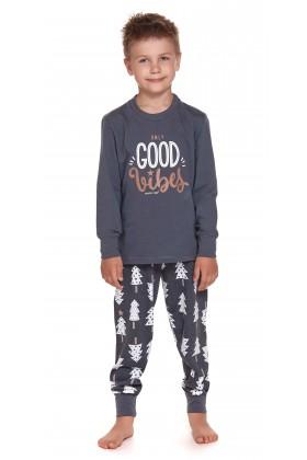 Dziecięca piżama ze spodniami w choinki - unisex