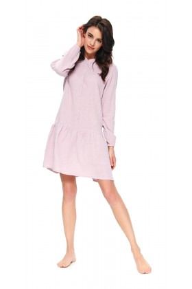 Woman's pink muslin nightshirt