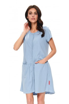 Women's maternity breastfeeding nightdress