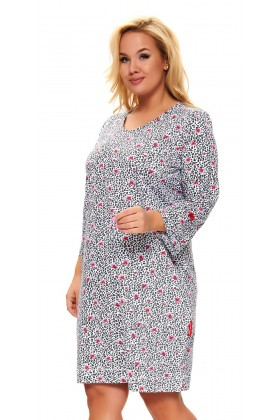 Women nightdress plus size with bows