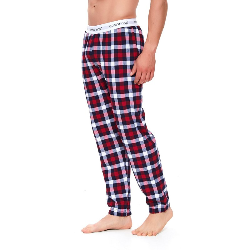 Mens joggers with branded waistband