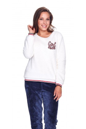 Women's two-pieces warm pyjama set