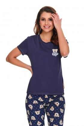 Women's two-pieces organic cotton pyjama set