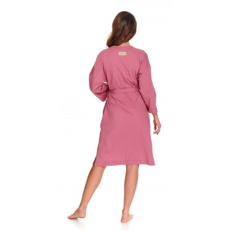 Woman's  organic cotton robe