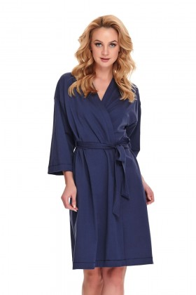 Woman's  organic cotton robe