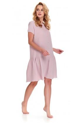 Woman's pink muslin nightshirt