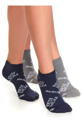 2-pack womans socks BEST MOM