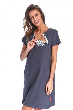 Koszulka ciążowa i do karmienia z magnetycznym zapięciem