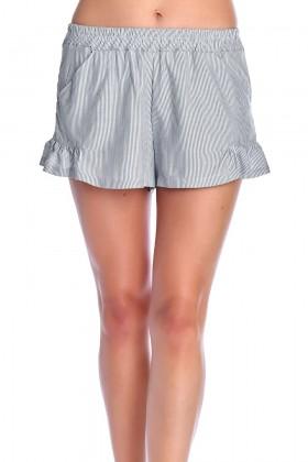 Shorts in grauen Streifen,...