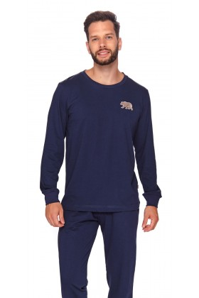 Men's two-pieces organic cotton pyjama set