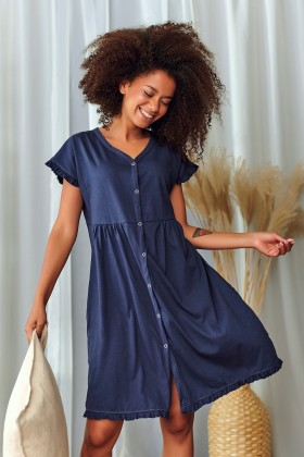 Woman's navy nightshirt...
