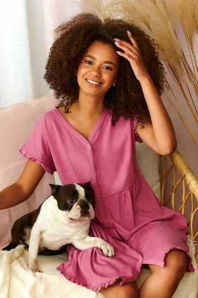 Woman's nightshirt organic...