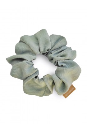 Lightgreen tencel scrunchie