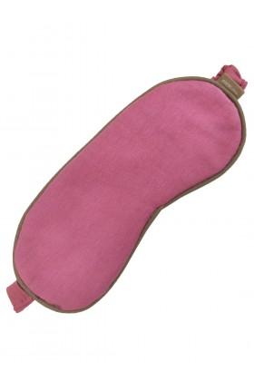 Różowa opaska na oczy z bawełny organicznej Dolce Vita