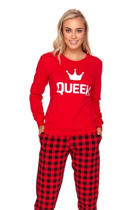 Printed red pyjama for Queen