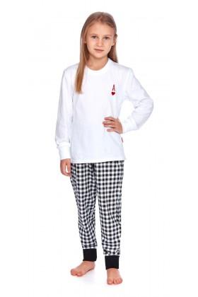 Piżama dziecięca AS biała