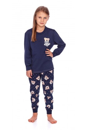 Girls organic cotton pyjama set